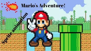 Mario's adventure ep 1 (First animation)
