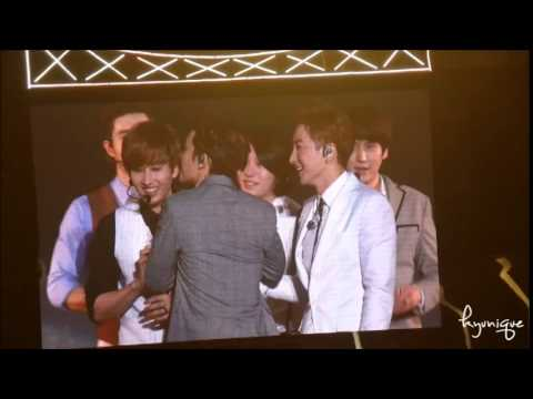 141130 SUPER JUNIOR SS6 Taiwan 台灣 笨蛋們的自我介紹 first talk