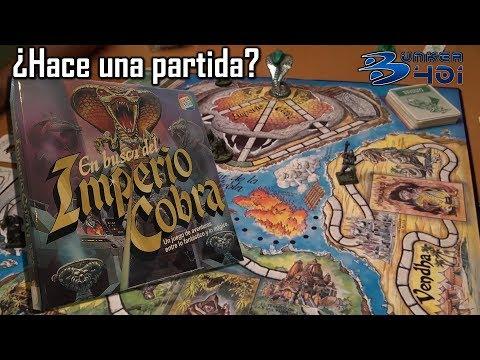 En busca del Imperio COBRA de CEFA ¿Hace una Partida? Juegos Multiplayer, Tablero, Mesa, Rol