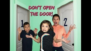Don't OPEN the WRONG Mystery DOOR!