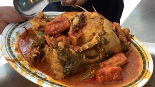 KL's Kampung Attap 3 Decade Fish Head Curry Still Hot !
