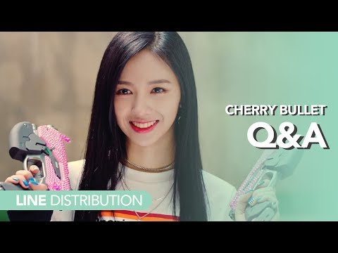 체리블렛 Cherry Bullet - Q&A | *CORRECT* Line distribution