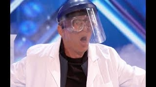Chemist Nick Blows Judges' Minds Away With REACTIONS   Week 2   America's Got Talent 2017