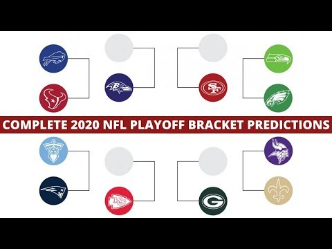 NFL Playoff Bracket Predictions 2020 | Who Will Win Super Bowl 54?