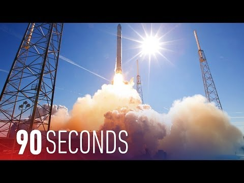 SpaceX continues its mission toward reusable rockets: 90 Seconds on The Verge