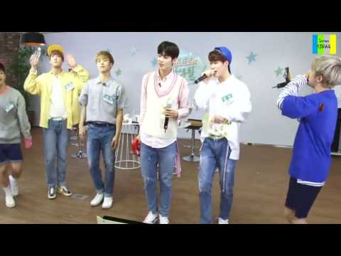 Rappers Singing Battle : Eunhyuk Vs Suga Vs Bambam Vs Jinjin