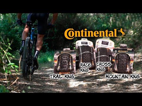 Gama de cubiertas continental para cualquier modalidad de MTB