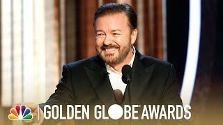Ricky Gervais' Monologue - 2020 Golden Globes
