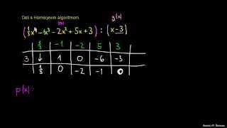 Hornerjev algoritem 5