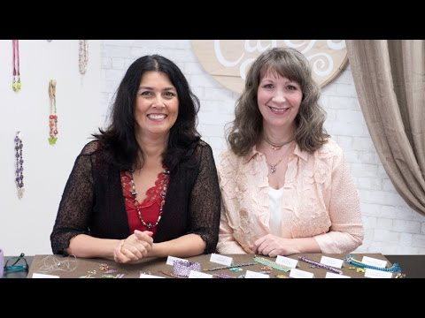 Artbeads Cafe - Discover Two Hole Beads with Cynthia Kimura and Cheri Carlson