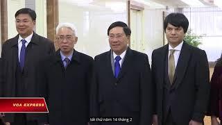 Ngoại Trưởng Việt Nam tới Bình Nhưỡng trong chuyến thăm 3 ngày (VOA)