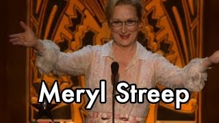 Meryl Streep Presents the 40th AFI Life Achievement Award to Shirley MacLaine
