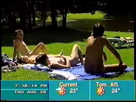 Naturism on the Weather Network - 1996
