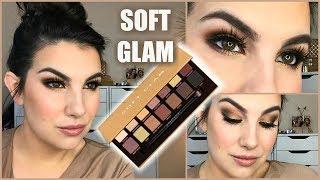 REVIEW/TUTORIAL Anastasia Soft Glam | Collab with LisaJMakeup!