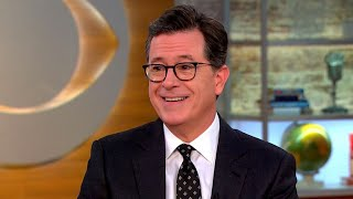 """Stephen Colbert takes his """"cartoon cameras"""" inside the White House"""