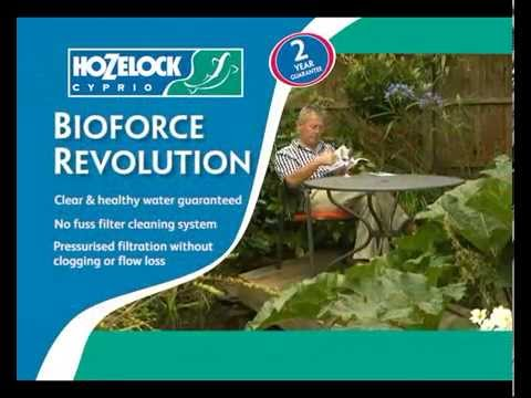 Hozelock Bioforce Revolution 9000 Filter Kit