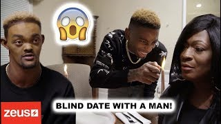 SET MY FRIEND UP ON A BLIND DATE WITH A MAN!!  (*HILARIOUS*)