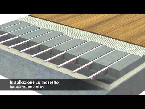 Riscaldamento a pavimento a zero spessore