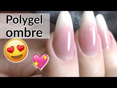 Poly gel Baby Boomer Tutorial