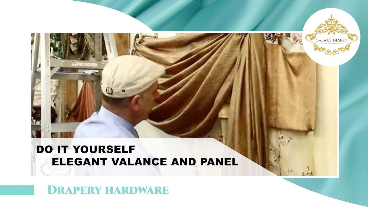 Do It Yourself Window Treatments: Video #13: Do It Yourself Drapes