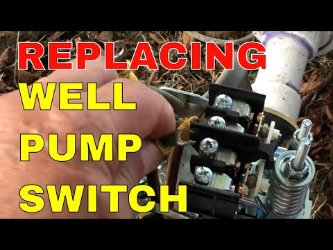 REPLACING A WELL PUMP PRESSURE SWITCH