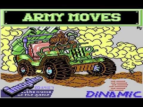 Commodore 64: Army Moves game ending by Imagine Software