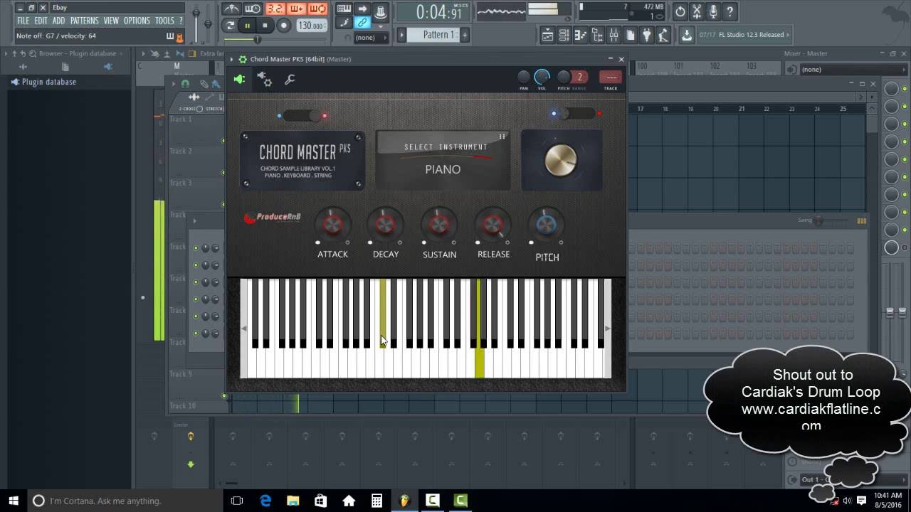 Create Great Chord Progressions With Ease! New Chord Master VSTi