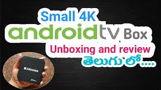 Best 4K Android TV Box 2018| Unboxing and review in telugu |convert your old TV to smart TV |