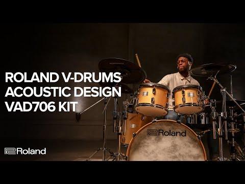 Vidéo Introducing the Roland V-Drums Acoustic Design VAD706 Electronic Drum Kit