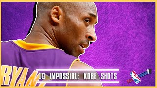 10 of Kobe Bryant's Most Impossible Shots From The 2000s (NBA 2000s)