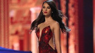 MISS UNIVERSE 2018 RECAP: THE SAGA OF CATRIONA GRAY- All Catriona Scenes plus OFF-STAGE DANCING HD
