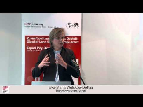 Eva Maria Welskop Deffaa  | Equal Pay Day Forum am 18.11.2015 in Frankfurt am Main