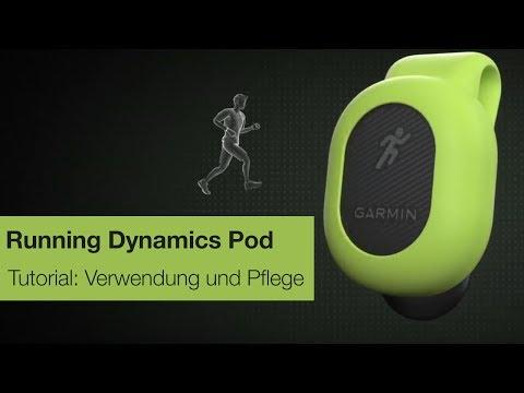 Garmin Running Dynamics Pod Tutorial – Verwendung und Pflege