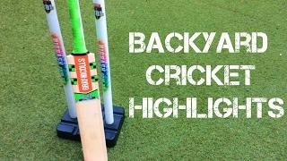 Backyard Cricket Highlights   AC AMAZING