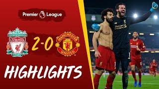 Liverpool 2-0 Man Utd | Van Dijk and Salah win it at Anfield | Highlights