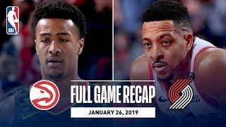 Full Game Recap: Hawks vs Trail Blazers | McCollum Notches First Career Triple-Double