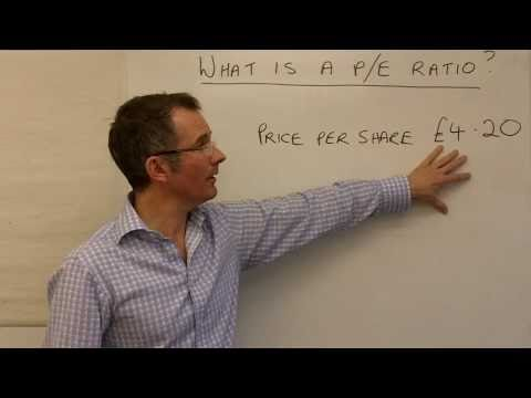A beginner's guide to p/e ratios (price to earnings ratio)