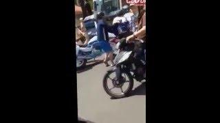 Đặc nhiệm Sài Gòn bắt gọn kẻ cướp gây náo lọan đường phố quận 1 - Cuop.vn
