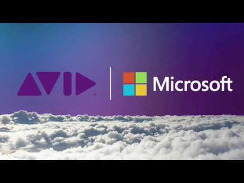 Avid at NAB Show 2017   Avid and Microsoft