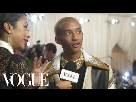 Jaden Smith on His Cozy Look for the Met Gala | Met Gala 2018 With Liza Koshy | Vogue