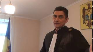Judecătorul Lebediuc dă afară presa apoi pronunță încheierea