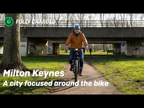 Milton Keynes Uncovered | the town designed for cycling