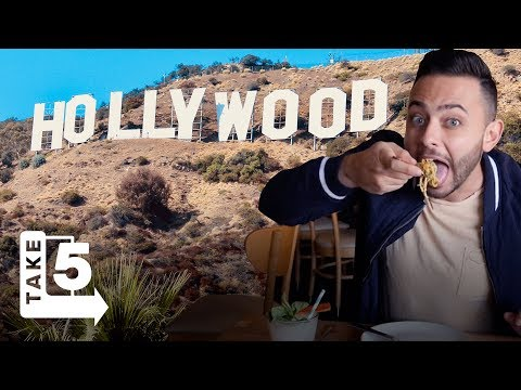 The Best Hollywood Food and Drink Spots —TAKE 5