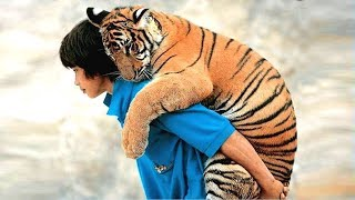 INCREDIBLE EXAMPLES OF FRIENDSHIP OF PEOPLE WITH WILD ANIMALS