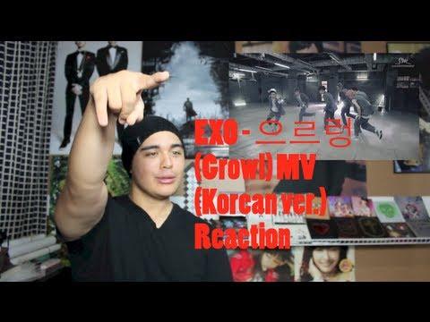 EXO - Growl MV (Korean ver.) Reaction