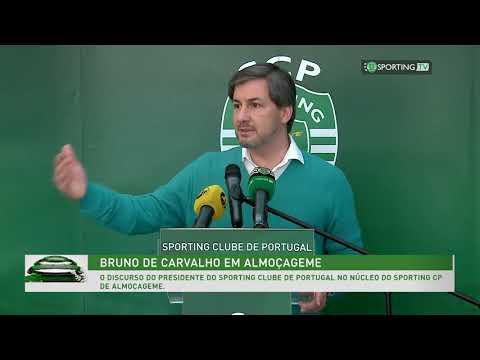 Discurso de Presidente Bruno de Carvalho no Núcleo de Almoçageme.