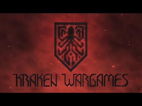 Kraken Wargames - Kickstarter Update: First casts are here!
