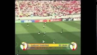 Mexico - USA 0-2 [FIFA World Cup 2002 Highlights]