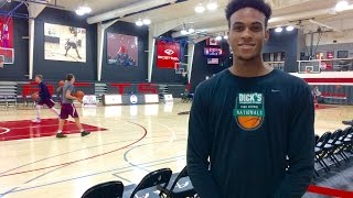 Syracuse basketball recruit Oshae Brissett