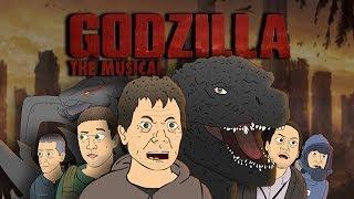 ♪ GODZILLA THE MUSICAL - Cartoon Parody Song